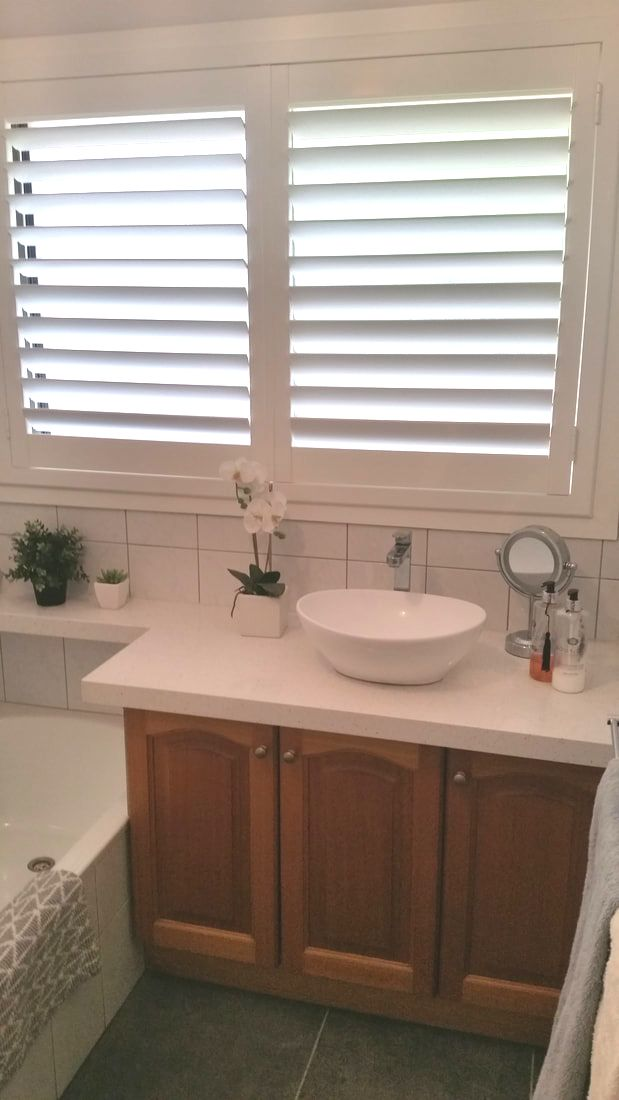 Shutters modernize and add elegance